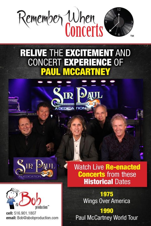 Sir Paul - a Tribute to Sir Paul McCartney